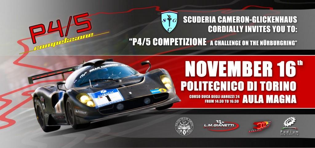 P45 Competizione Politecnico Torino