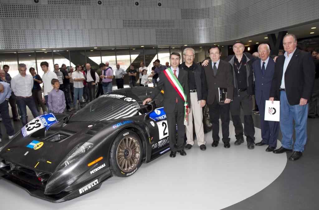 p 4/5 competizione museo automobile torino