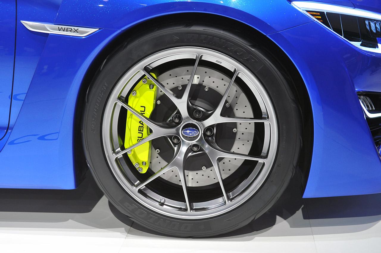 Subaru Wrx Concept 12 Track Fever