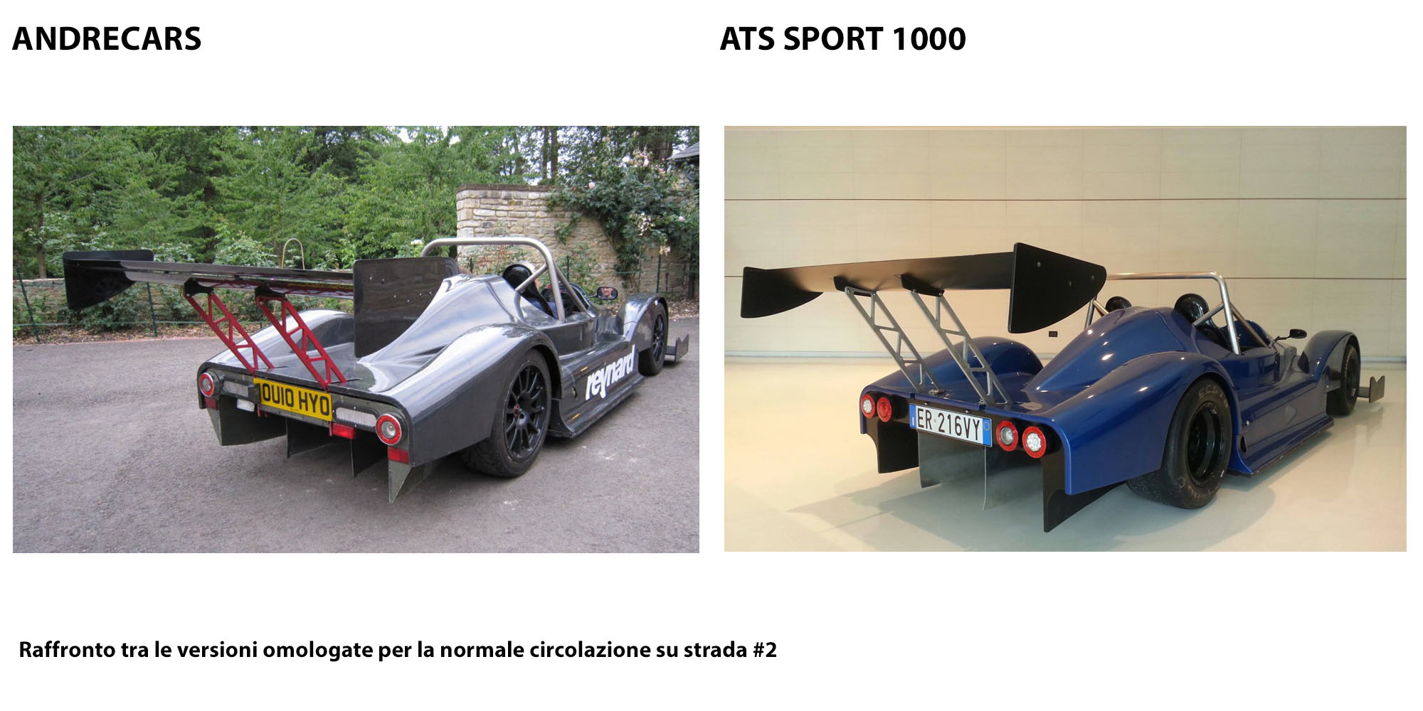 raffronto andrecars ats sport 1000 targate retro track fever. Black Bedroom Furniture Sets. Home Design Ideas