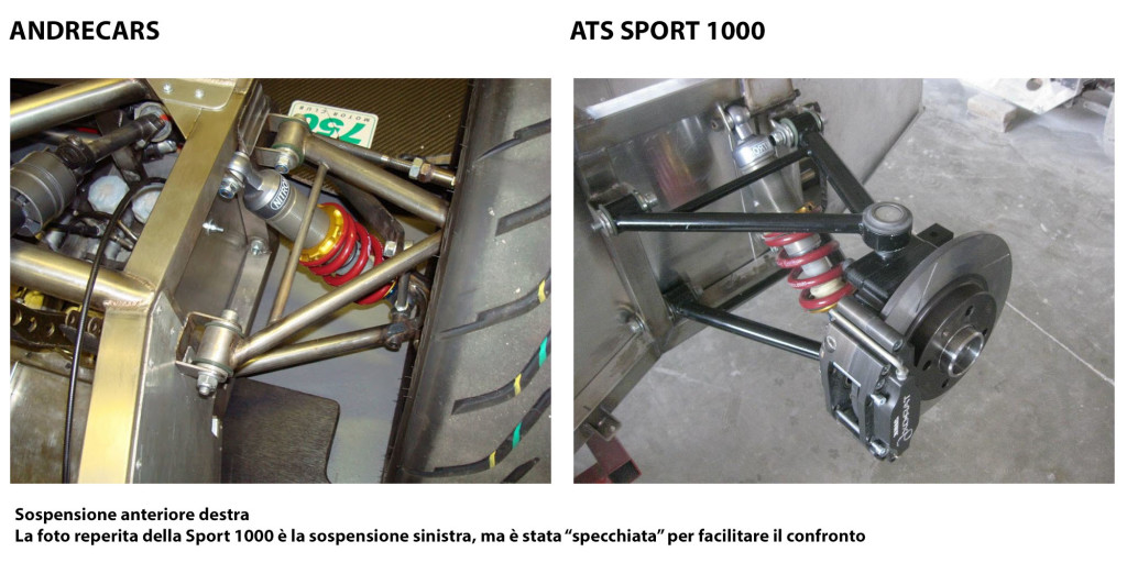 sospensione anteriore andrecars-ats-sport-1000