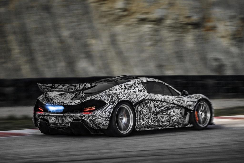 McLaren P1 test nurburgring