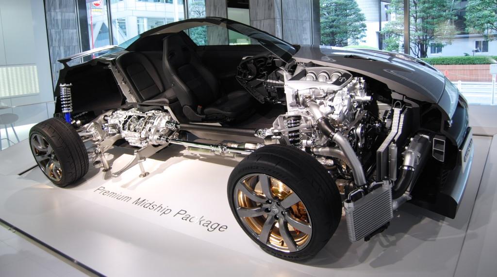Nissan GTR cutmodel