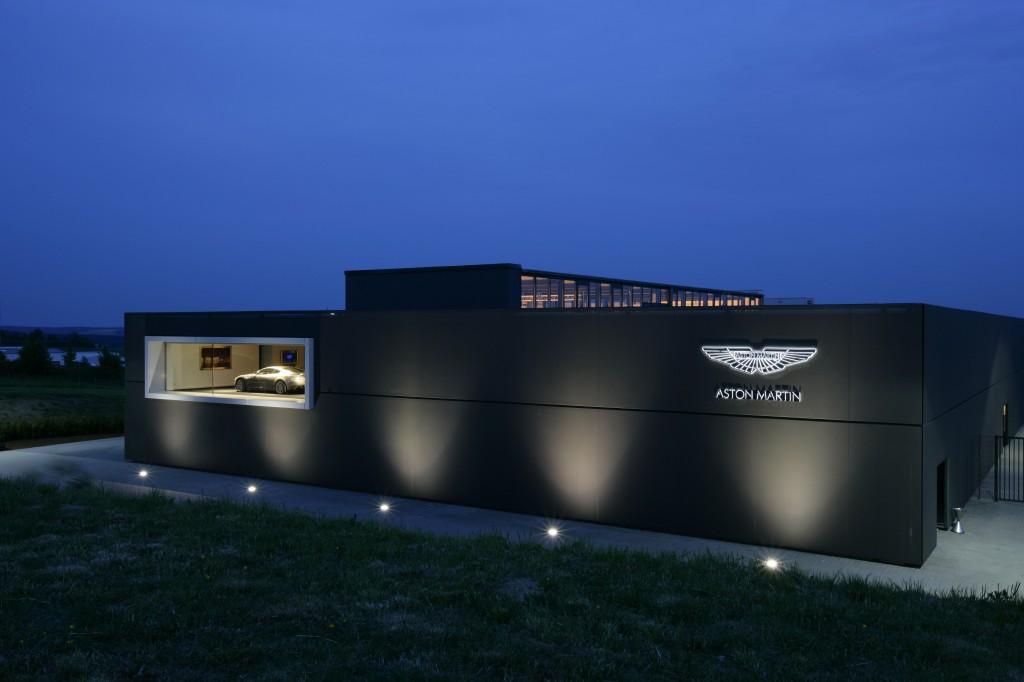centro ricerca e sviluppo Aston Martin nurburgring