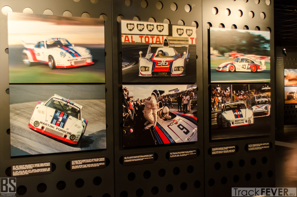 Martini Racing wall porsche