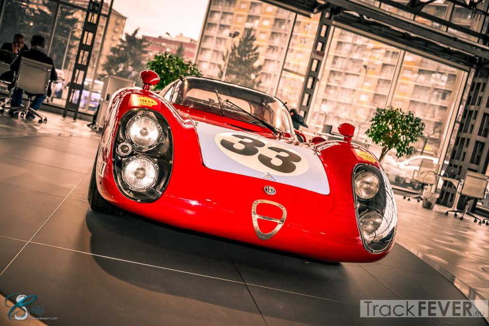 """Alfa Romeo 33 """"Daytona""""."""