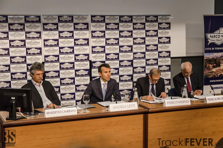 Presentazione Gran Premio dell'Automobile