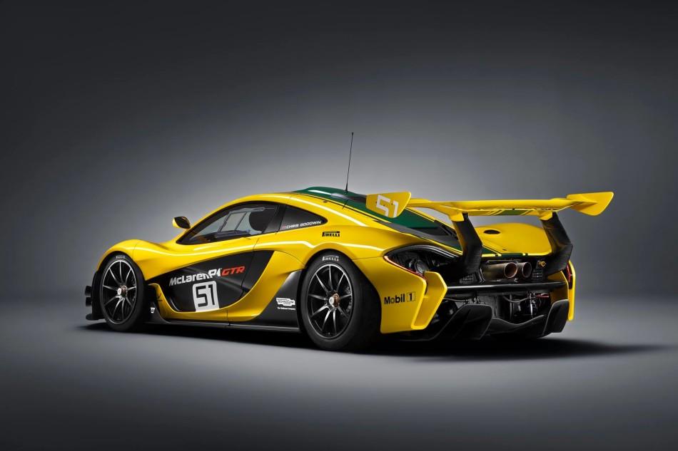 McLaren P1 GTR posteriore 1