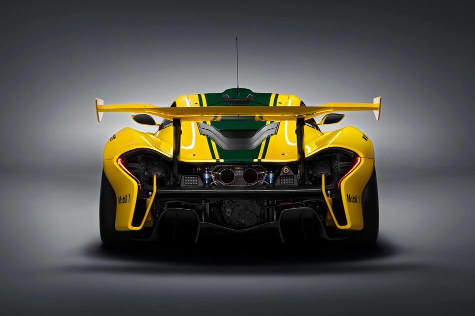 McLaren P1 GTR posteriore