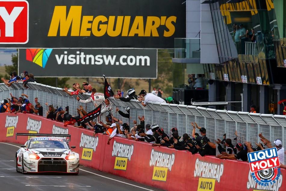 NISMO GTR win Bathurst 12h