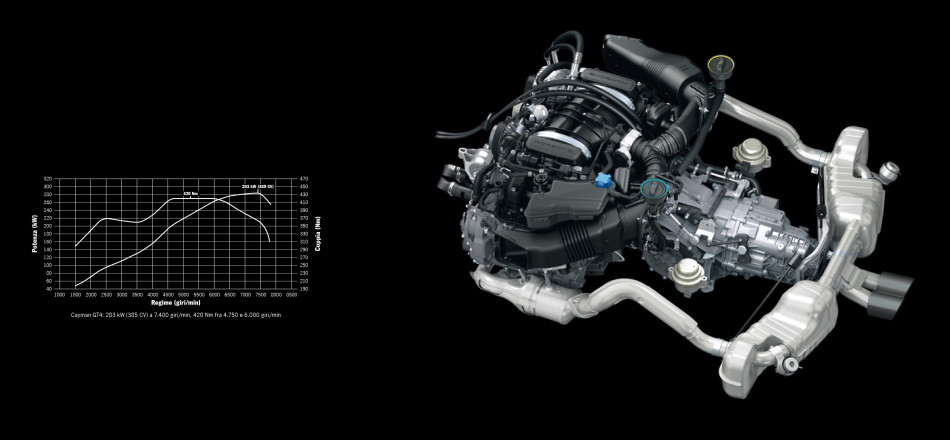 Cayman GT4 engine