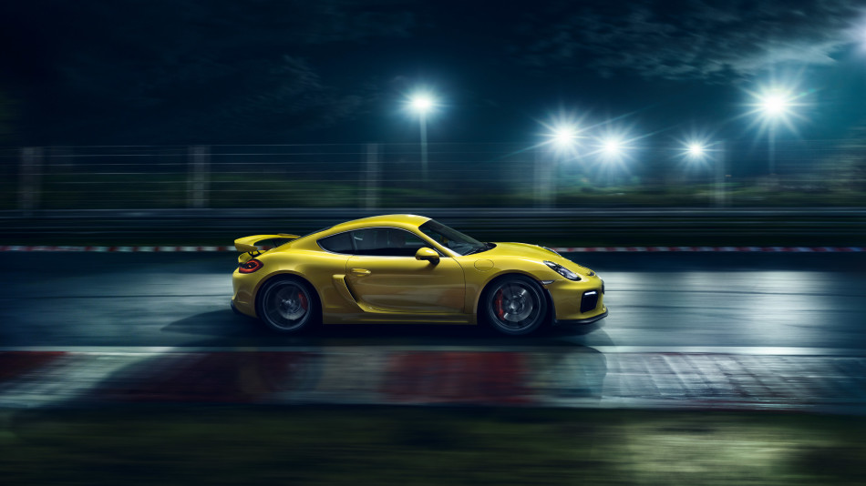 Porsche Cayman GT4 3