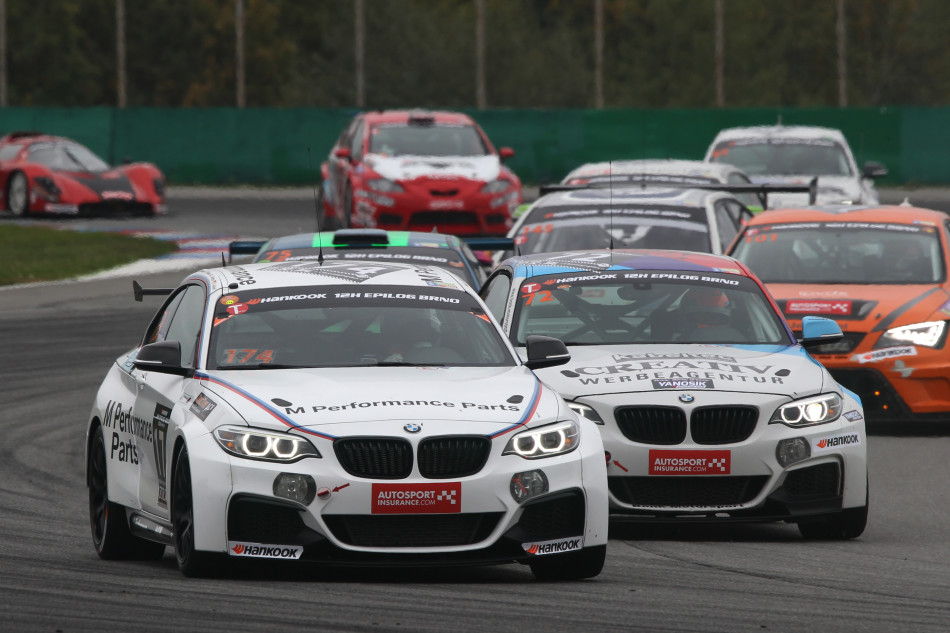 09.-11.10.2015. Brno, Czech Republic, Race, 12H Epilog BRNO, 12H Race - BMW Motorsport Junior Program 2015 on the BMW M235i Racing - This image is copyright free for editorial use © BMW AG