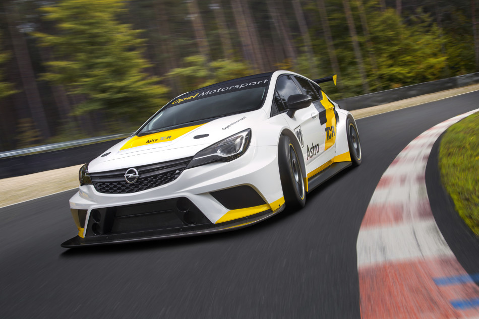 For customer racing: The new Opel Astra TCR will presented for the first time in the Belgian town of Mettet.