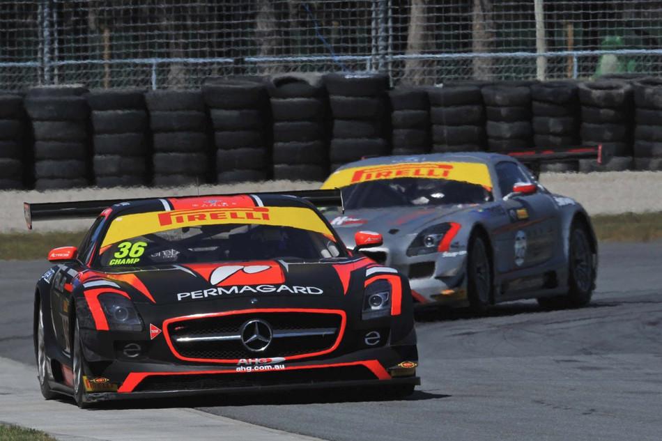 Mercedes SLS AMG GT3 e