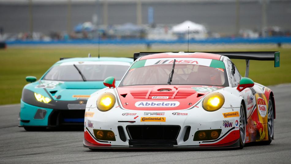 Porsche 911 gt3 r daytona imsa weathertech sportscar championship 2016 porsche