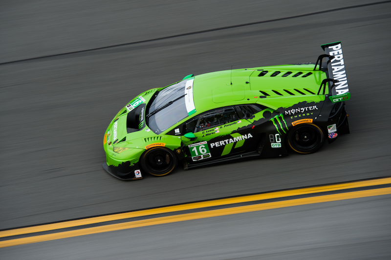 January 7-10, 2016: IMSA WeatherTech Series ROAR: #16 Spencer Pumpelly, Justin Marks, Corey Lewis, Change Racing, Lamborghini Huraca?n GT3