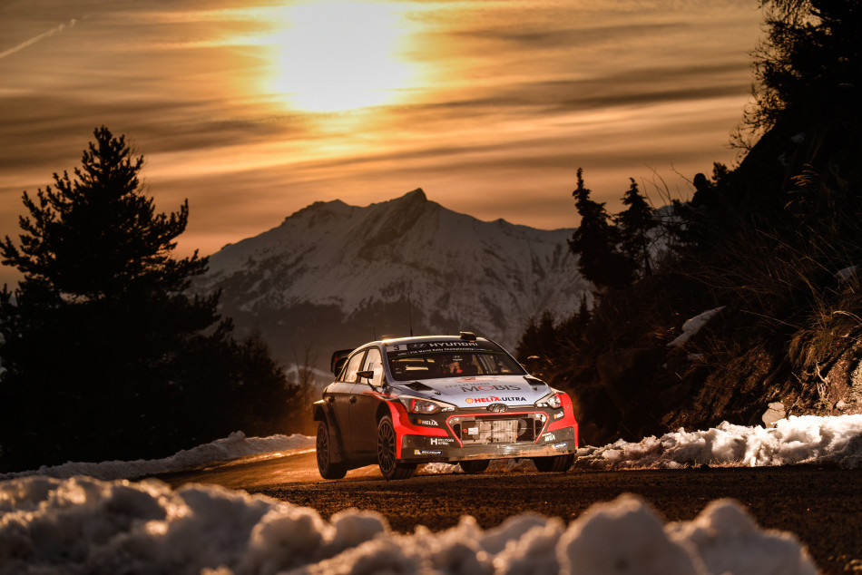 Thierry Neuville Rally Monte Carlo 2016 Hyundai i20 WRC
