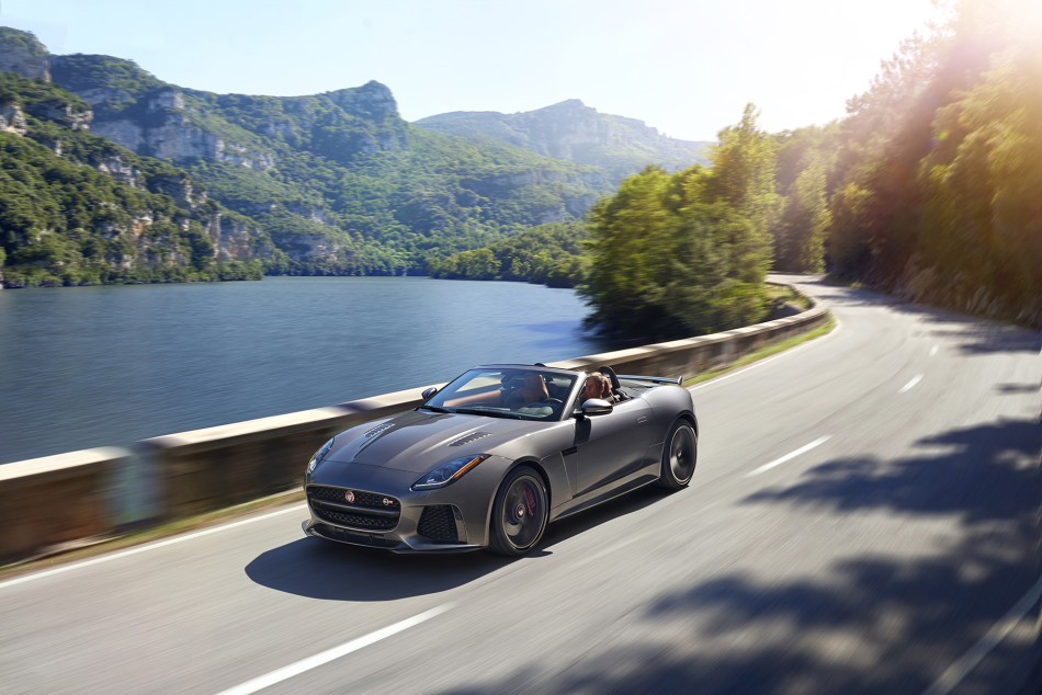 jaguar f-type svr convertible 1