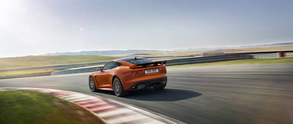jaguar f-type svr coupe 12